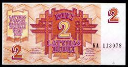 Lettonia-002 (Immagine Campione) - 2 Rubli - - Lettonie