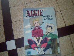 Bd Aggie La Reine Du Rodeo  Couvertue Souple Occasion Album No 6 Edition Joyeuse Jeunesse 47 Pages Original - Magazines Et Périodiques