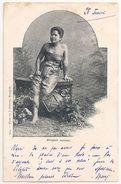 Siam Thailand 1900´s Bangkok Woman - 664 Photo By J. Antonio - Union Postale Universelle - Old Cpa - Thailand