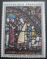 France N°1399 VITRAIL De La Cathédrale De Chartres Neuf ** - Verres & Vitraux