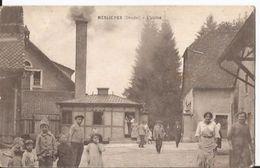 CPA - Meslieres - L'usine  - Animée - Autres Communes