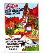 Carte Strasbourg Salon Toute Collection 2000 Theme Tram Cathedrale Cigigne - Strasbourg