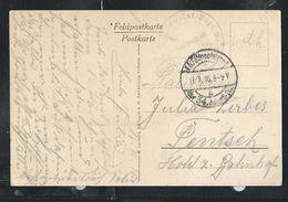 Carte-vue De Romagne, En Franchise  Obl. 17/03/1916 - Guerre 14-18
