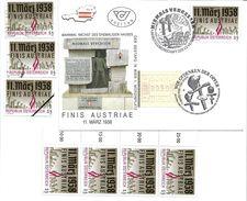 1500i: Österreich 1988, Besetzung 1938, FDC Und Gesamt 6mal **/o, Plus Mustermarke - 2. Weltkrieg