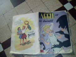 Bd Aggie  Et Le Bandit  Couvertue Souple Occasion No 8 Edition Joyeuse Jeunesse  47 Pages Original - Magazines Et Périodiques