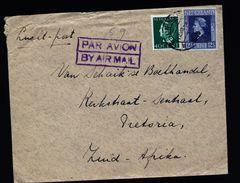 A4922) Niederlande Brief 1946 Nach Süd-Afrika - 1891-1948 (Wilhelmine)
