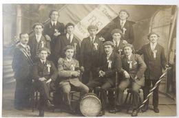 69 CARTE POSTALE PHOTO CPA PONT TRAMBOUZE COURS LA VILLE CONSCRIT 1924 - Cours-la-Ville
