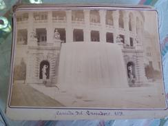 PARIS. CASCADA DEL TROCADERO 1878 - FOTOGRAFIA ANTIGUA 16.5 X 10.5 CM - Ancianas (antes De 1900)