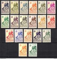 AOF Afrique  N° 4 à 22 Neuf  XX  MNH Cote Y&T  27,00  €uro - A.O.F. (1934-1959)