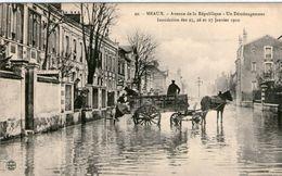 (51)  CPA  Meaux  1910 Avenue De La Republique Demenagement  (Bon Etat) - Meaux