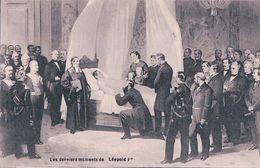 Funérailles De Léopold II  Roi De Belgique (6 Cartes 621) - Koninklijke Families