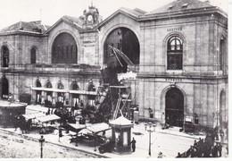 CPM PARIS 1900 Accident De Train à La Gare Montparnasse N°69 - Stations - Met Treinen