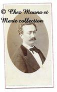 LYON 1872 - HOMME COUPAT - RHONE - CDV PHOTO JOGUET - FAMILLE GENEALOGIE - Anciennes (Av. 1900)