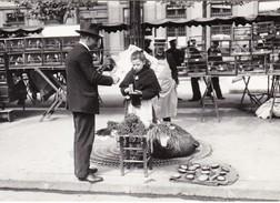 CPM PARIS 1900 Du Mourron Pour Les Petits Oiseaux N° 23 - Halles