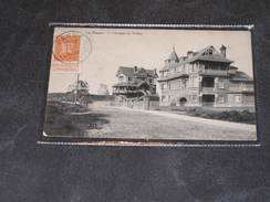 LA PANNE - GROUPE DE VILLA - ED. AU PETIT BONHEUR - POSTEE 1912 - De Panne