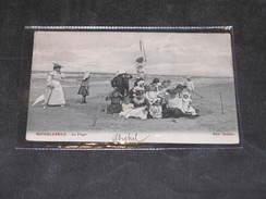 MIDDELKERKE - LA PLAGE - Ed. SABLON - POSTEE 1905 - Middelkerke