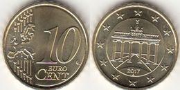 Dm375 - Germany (FRG) 10 Cent 2017A - Allemagne