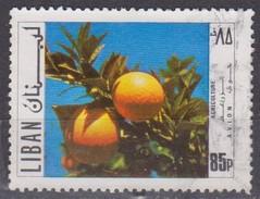 Libano, 1971 - 85p Oranges - Nr.C636 Usato° - Libano