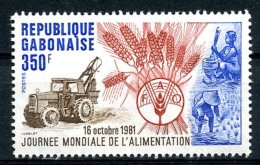Gabon, 1981, World Food Day, FAO, Food And Agriculture Organization, United Nations, MNH, Michel 806 - Gabon (1960-...)