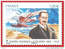 France Transport Avion N° 4794 ** Personnage - Pierre-Georges Latécoère - Avions