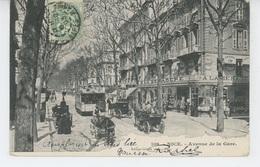 NICE - Avenue De La Gare ( Tramway ) - Nizza