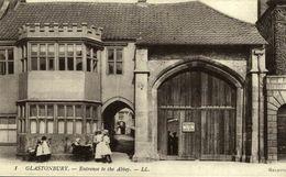 GLASTONBURY ENTRANCE TO THE ABBEY - Angleterre