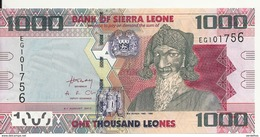 SIERRA LEONE 1000 LEONES 2013 UNC P 30 - Sierra Leone