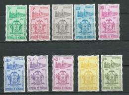 Venezuela  - Série Yvert N°579 à 588 , 10 Valeurs ** - Ai24601 - Venezuela