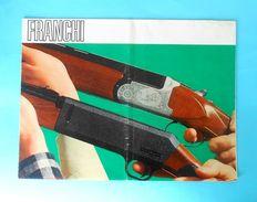 FRANCHI ( Italy ) - Falconet Shotgun & Carabine ... Yugoslav Vintage Catalogue * Chasse Jagd Caccia Caza Hunt Italia - Cataloghi