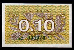 Lituania-001 (Immagine Campone), 0,10 Talonas,1991 - - Lituania