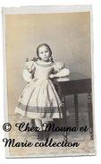 BEAUNE - MARIE CALLIER PETITE FILLE - COTE D OR - CDV PHOTO COCHEY - FAMILLE GENEALOGIE - Photos