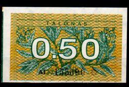 Lituania-004 (Immagine Campone), 0,50 Talonas,1991 - Disponibili 5 Lotti. - Lituania