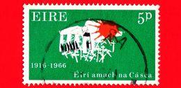 IRLANDA - Eire -  1966 - 50 Anni Della Rivolta Di Pasqua - Marching To Freedom 1916-1966 - 5 P - 1949-... Repubblica D'Irlanda
