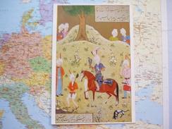 Emir Khusraw Dihlawi  / Départ Pour La Chasse Au Faucon - Peintures & Tableaux