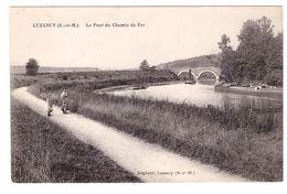 LUZANCY - Le Pont Du Chemin De Fer - Autres Communes