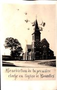 Carte-Photo - Bénédiction De La Première Cloche En L'Eglise De Boncelles - Seraing