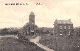 Saint-Georges- Sur Les Bois - L'Eglise (Edit. Gabriel-Delbrouck, Peu Vue) - Saint-Georges-sur-Meuse