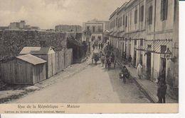 MATEUR RUE DE LA REPUBLIQUE - Tunisie