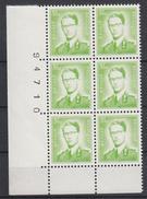BELGIË - OBP - 1958 - Nr 1068B P3 (20 1/2x 24) - MNH** - 1953-1972 Lunettes
