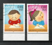 Eire / Irland  2008  Mi.Nr. 1826 / 1827 , EUROPA CEPT - Der Brief  - 22.04.2008 - Usati