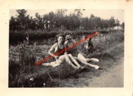 1942 Schoten Vaart - Foto 9.5x7cm - Lieux