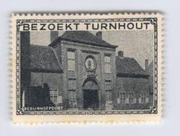 Bezoekt Turnhout - Begijnhofpoort - Erinnophilie