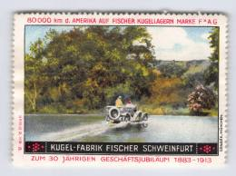 Kugel-Fabrik Fischer Schweinfurt 1913 - Erinnophilie