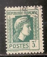 FRANCE    N°   642    OBLITERE - Oblitérés