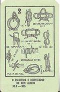 Pocket Calendar FRATERNIDADE BARRACUDA 1980 ESCUTEIROS RARO - Calendriers