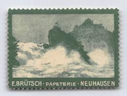 E. Brütsch Papeterie Neuhausen - Erinnofilie