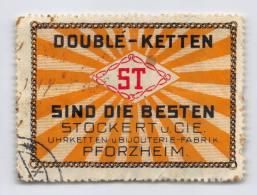 Doublé-Ketten - Stockert Pforzheim - Erinnophilie