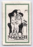 Manoli Cigaretten - Erinnophilie