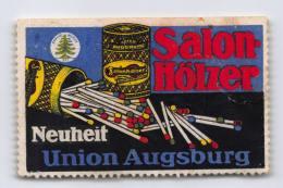 Salon-Hölzer - Union Augsburg - Erinnophilie