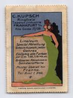 C.Kupsch Tapeten - Frankfurt - Erinnophilie